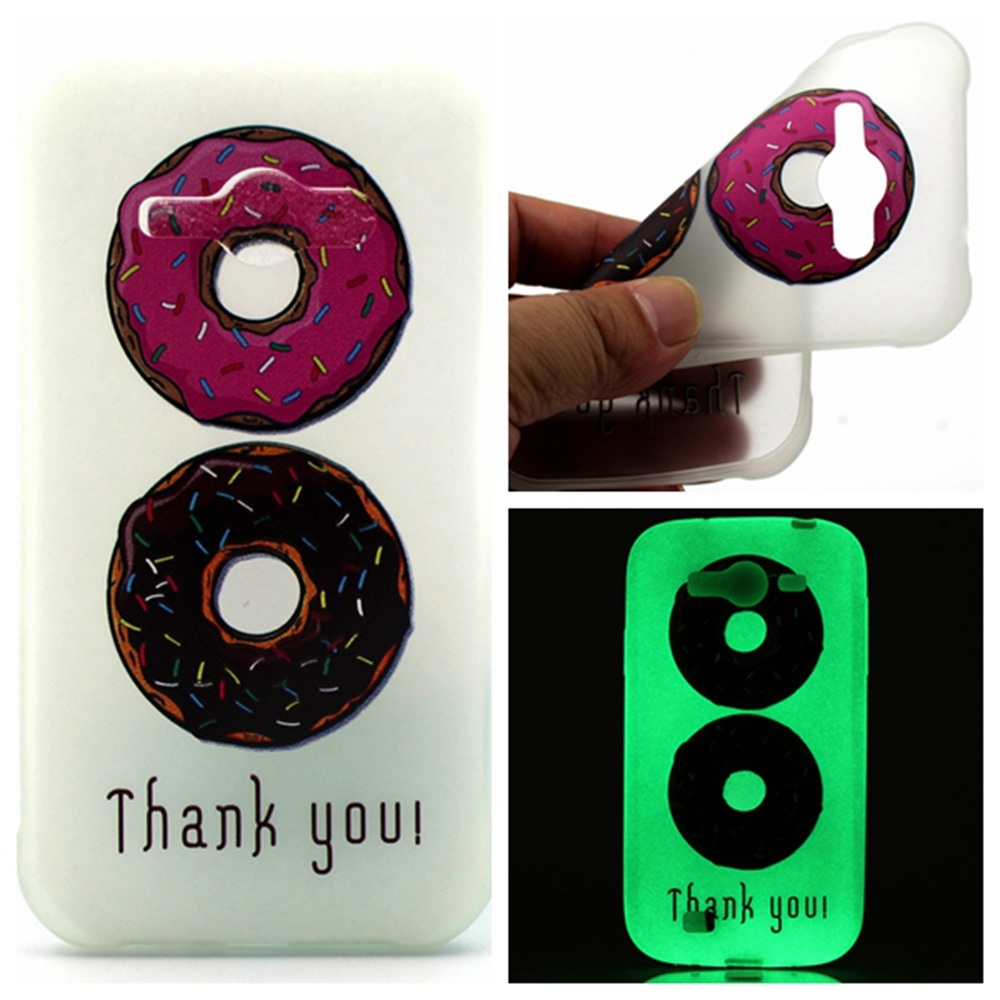 Luminous Fluorescent Glow Ultra Thin Soft TPU Gel Silicone BackCase Cover for Samsung .