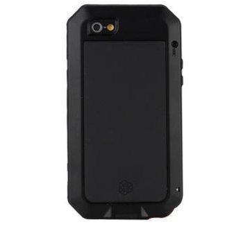 Lunatik Taktik Extreme Protection Case for Iphone 5 / iPhone 5S Corning Tempered Glass - Hitam