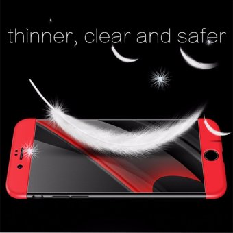 Luxury 3 in 1 Combo Case For Apple iPhone 7 plus 5.5inch 360 DegreeCoverage Armor Hard PC Back Cover Slim Full Body Phone Shell+GlassScreen Protector - intl - 2