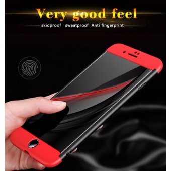 Luxury 3 in 1 Combo Case For Apple iPhone 7 plus 5.5inch 360 DegreeCoverage Armor Hard PC Back Cover Slim Full Body Phone Shell+GlassScreen Protector - intl - 4