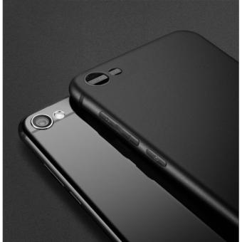 Luxury 360 protective For vivo V5 Plus Translucent Ultra-thin Soft Back Case Cover - Black