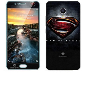 Online murah Luxury 3D Painting Front+Back Full Case Cover Color Tempered GlassCase For Meizu Meilan 5S Meizu M5s Screen Protector Film (Color-12)- intl ...