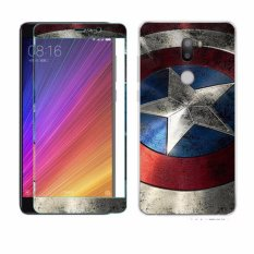 Luxury 3D Painting Front+Back Full Case Cover Color Tempered GlassCase For Xiaomi Mi 5s