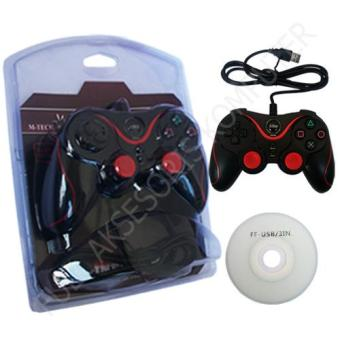 M-Tech SY-881S Gamepad Inferno Single Getar - Hitam - 2