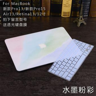 Harga Terendah Mac pro13/air13/macbook12 Apple ID buku tulis komputer inci pelindung shell