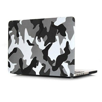 harga MACBOOK AIR 13 Inch A1369/A1466 Plastik Pola Hard Case Kamuflase [CME dengan Keyboard Cover] Macbook Air 13 Inch (Gurun Kamuflase) -Intl Lazada.co.id