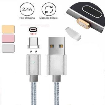 Magnetic USB-C Tipe C Charger Kabel untuk LG G5/G6 Pixel P9/