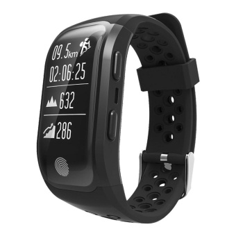 Makibes G03 IP68 Sport Tracker With GPS Heart Rate Monitor ActivityTracker Fitness Bracelet For IOS/Android - intl
