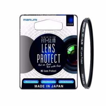 Harga Marumi Fit & Slim MC Protect 40.5mm - Hitam