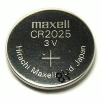harga Maxell CR2025 3 Volt Coin Lithium Cell Battery - MXL-CR2025 ( Bisautk Jam Tangan, Kalkulator, Remote dll) Lazada.co.id