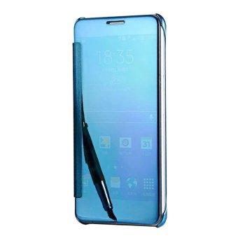 Harga Meishengkai Case For Samsung Galaxy C9 Pro Flip Specular MirrorProtective Cover Case with Smart Sleep Blue intl Terbaru klik gambar.