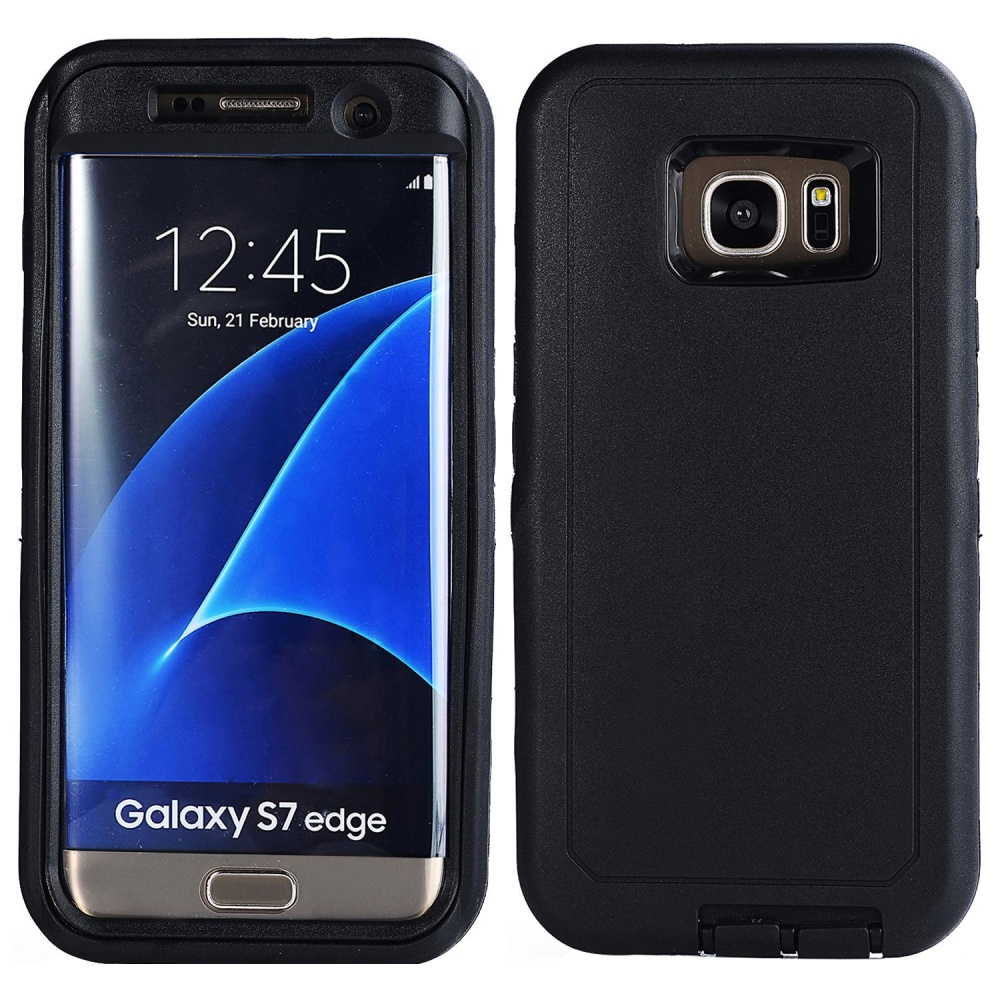 Meishengkai Case For Samsung Galaxy S7 3 Layers Heavy Duty Defender Hybrid Soft .