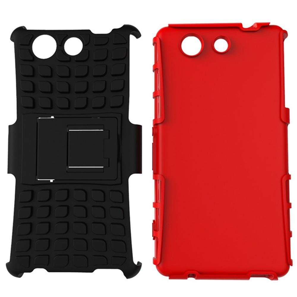 Kickstand Hybrid Shock Source Meishengkai Case For Sony Xperia Z4 Compact Detachable 2 in 1Shockproof Tough