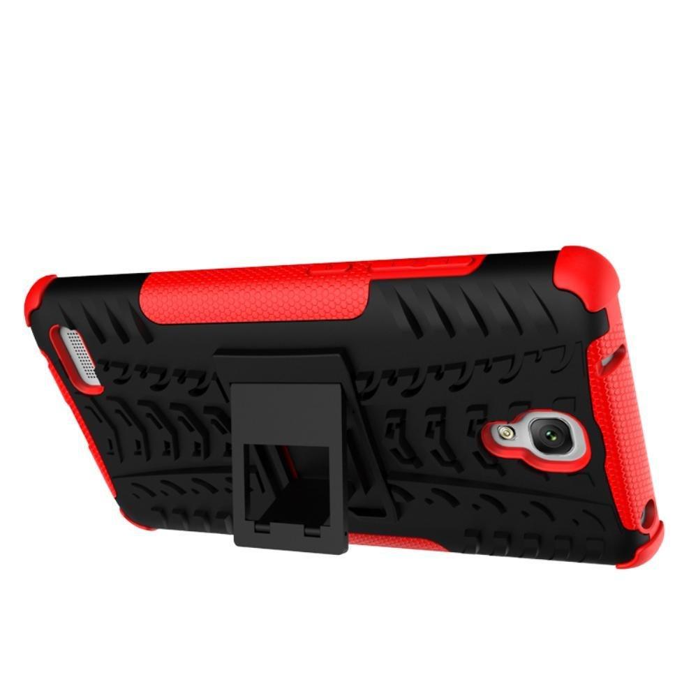 Meishengkai Case For Xiaomi Redmi Note Detachable 2 in 1 HybridArmor Design Shockproof .