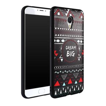 Gambar Meizu mx6 mx6 kepribadian set ponsel dari silikon lembut lega shell telepon