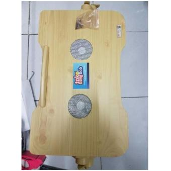 MEJA LAPTOP KAYU UP TO 17 INCH