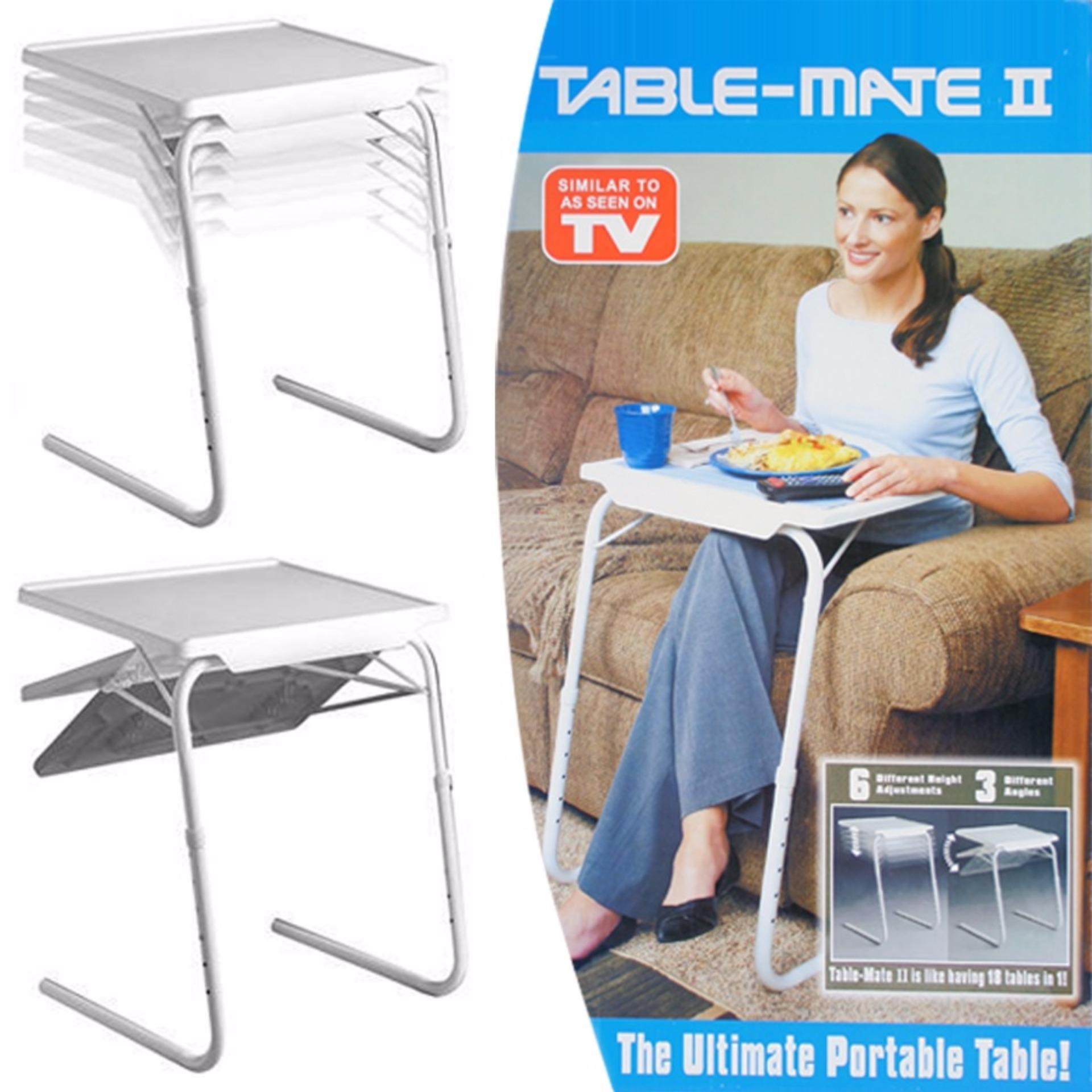 Bandingkan Toko Meja Lipat Laptop Portable Table Mate Ii Mejabelajar Anak
