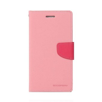 Mercury Goospery Fancy Diary for Asus Zenfone 6 Case - Pink/HotPink