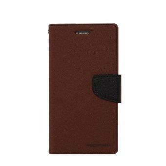 Mercury Goospery Fancy Diary for Samsung Galaxy Ace 3 - Cokelat