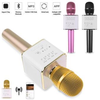 MicGeek Q9 Karaoke Mic Bluetooth Wireless Q9 Tuxun Mikrofon Bluetooth - Random