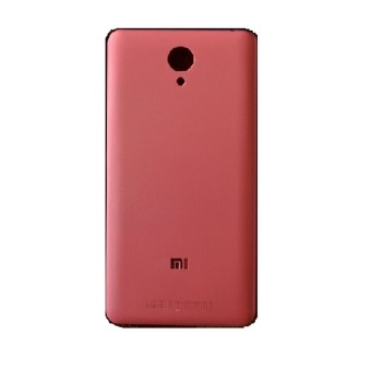 Michellisto Xiaomi Redmi Note 2 Prime Backdoor Back Case CasingCover - Pink