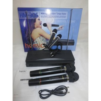 MicroPhone Wireless Double