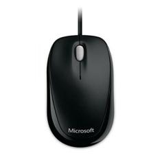 Microsoft Compact Optical Mouse 500 untuk Bisnis-Hitam-Intl
