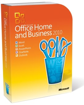 Microsoft Office 2010 Home Business FPP
