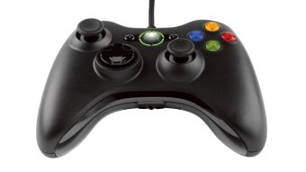 Microsoft Stick Controller Wired Kabel For Xbox 360 Or Pc 1 Pc ...