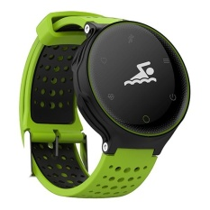 Microwear X2 Smartwatch Bluetooth 4.0 IP68 Tahan Air Pengingat Sesaat Sleep/HEART RATE Monitor Pedometer-Intl
