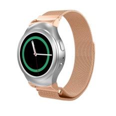 Milanese Bagus Magnetic Loop Stainless Steel Band Tali dengan Konektor untuk Gear S2 R720 R730 Smart Watch-Intl