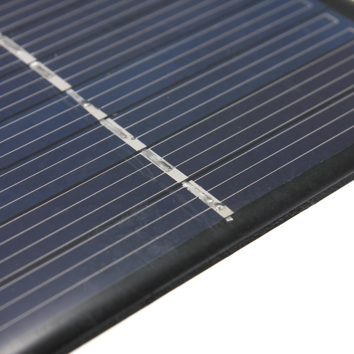 Mini 5.5 V 1 watt 180mA polikristalin panel surya modul diseduh sendiri charger .