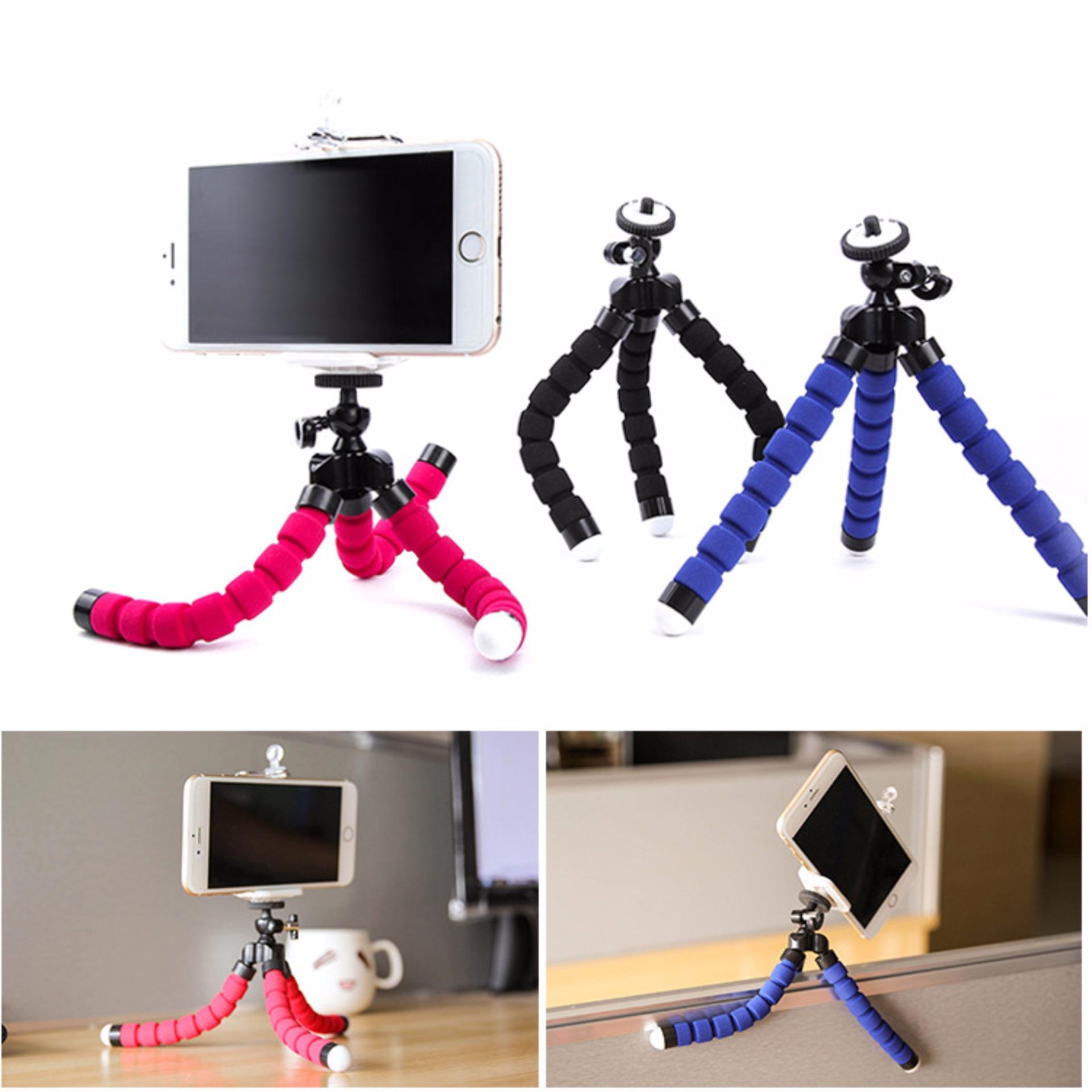 Mini Flexible Octopus Portable Tripod Gorillapod Sponge .