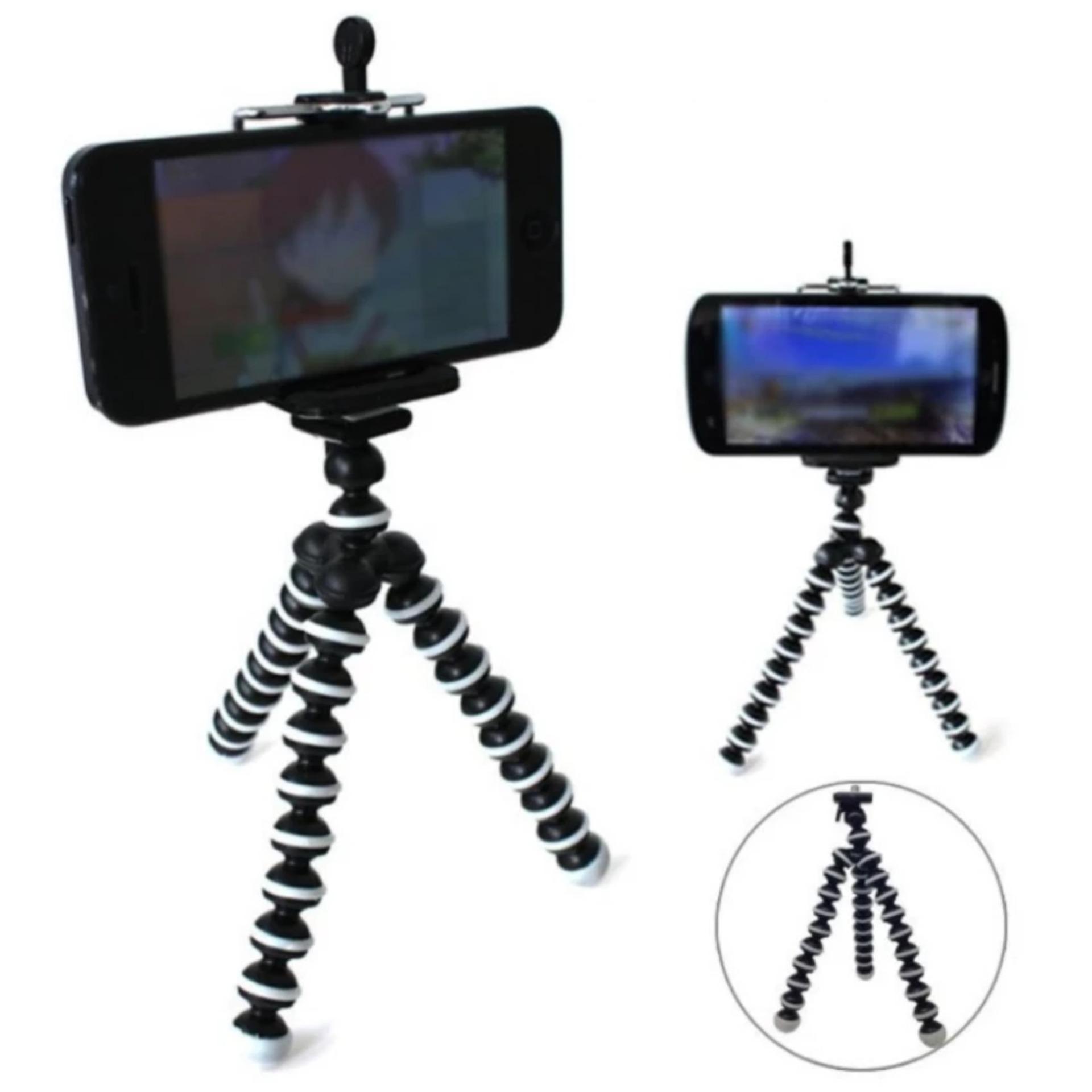 ... Mini Flexible Tripod Gorilla Pod Octopus + Holder U + Bonus Holder tentacle for Phone ...