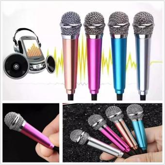 Detail Gambar Produk Mini Microphone Wired Sing KARAOKE Mic HP Android / IOS / PC SmuleTop