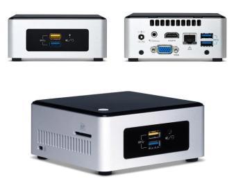 Mini PC Intel NUC NUC5PGYH Quadcore N3700-2.4Ghz