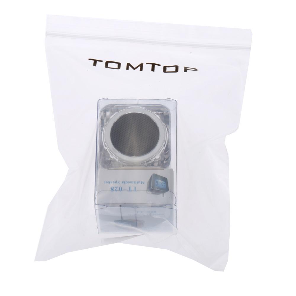 Mini Portabel Digital Musik MP3/4 Player Micro SD/TF USB Disk YangPembicara Radio ...