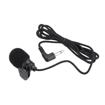 Mini Portable Clip-on Lapel Lavalier Hands-free 3.5mm Jack Condenser Microphone Mic - intl