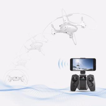 Mini Quadcopter Smart Drone Wifi with 0.3MP Camera- FY603