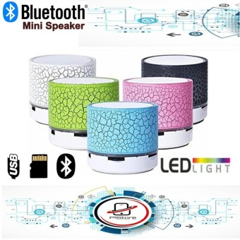 Mini Speaker Portable Bluetooth Wireless with Bass Stereo LED