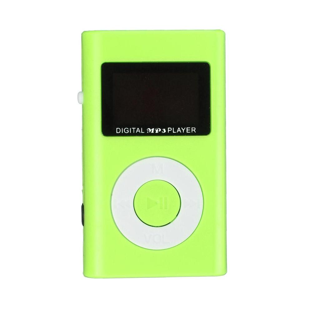 Mini USB MP3 Music Media Player LCD Screen Support 32GB Micro SD TF .