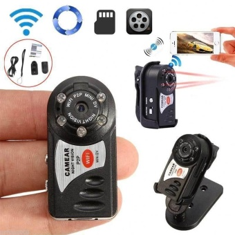 Mini WIFI P2P Wireless DV DVR Hidden Digital Q7 Video Recorder Camera Camcorder - intl
