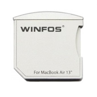 Harga Mini Winfos The Nifty Mini Drive MicroSDHC Card for Macbook Air 13Inch - Putih