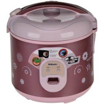 Miyako MCM-18 BH B Rice Cooker -  Penanak Nasi - 1.8 L - Cokelat