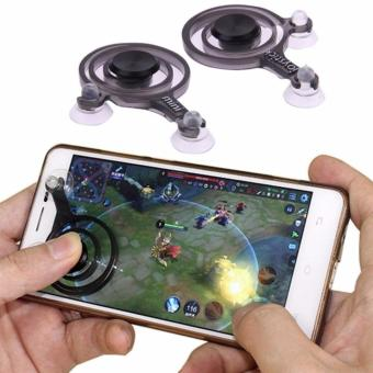 Mobile Joystick Game pad Touch Screen Joystick Perfect Mobile Game Controller For iPhone Android iPadmini Tablet - Hitam