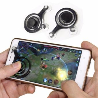 Mobile Joystick GamePadGame Controller Support Android Iphone Tablet - Random + Free Ikat Rambut Polkadope - 1 Pcs
