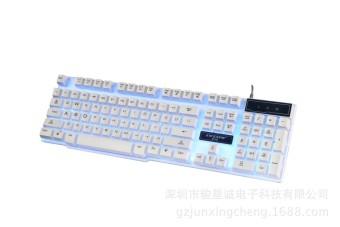 Mode Meja Komputer Berkabel USB Keyboard