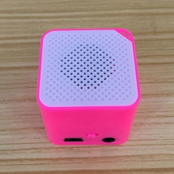 Moonar Mini MP3 Music Player Support 16G SD TF Card Speaker - intl