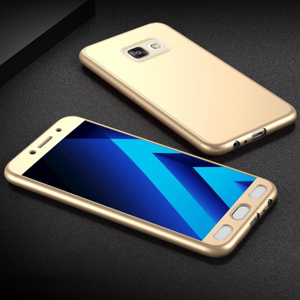 ... MOONCASE Galaxy A5 (2017) Full-Body Case Shockproof Soft TPU Matte Finish Slim ...