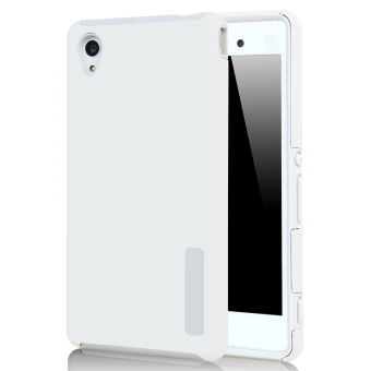 Moonmini PC/TPU Back case for Sony Xperia M4 Aqua (White)